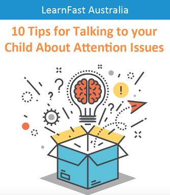 10 tips for talking to your child about attention issues ebook cover