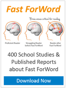 GET YOUR COPY 400 school studies & published reports about Fast ForWord