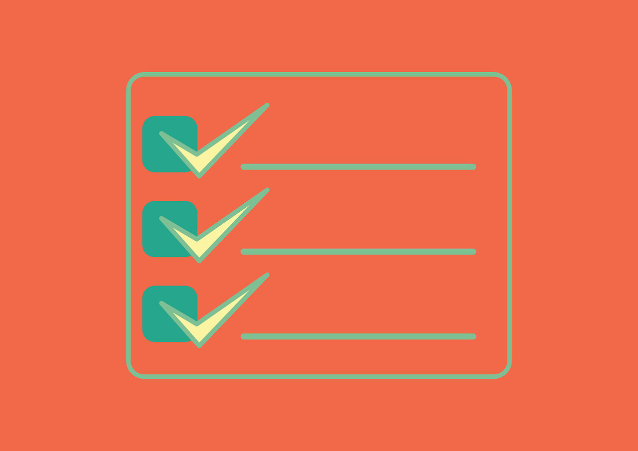 Learning issues checklist