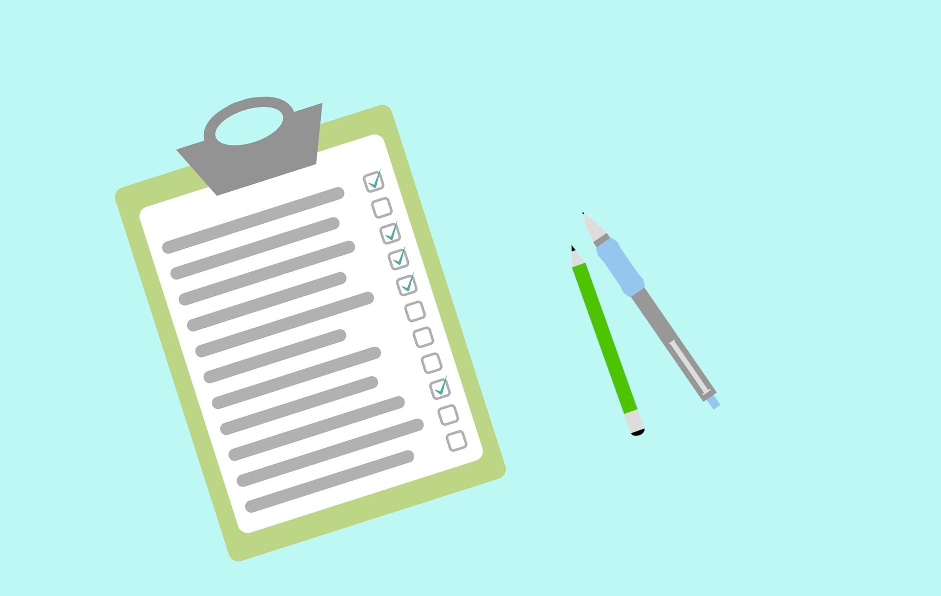 APD checklist